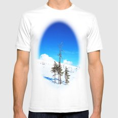 Still winter  (easter in Norway 2013) MEDIUM White Mens Fitted Tee