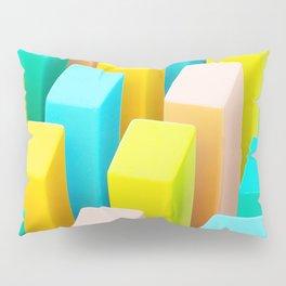 Color Blocking Pastels Pillow Sham