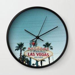 Viva Las Vegas Wall Clock