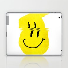 Smiley Glitch Laptop & iPad Skin