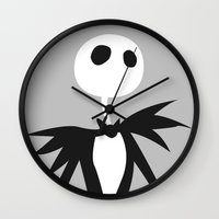 jack Wall Clocks featuring Jack by Polvo