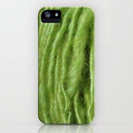 Spring Green Yarn iPhone Case