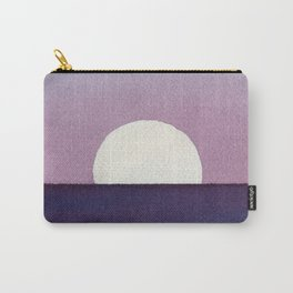 Moonset Watercolor Carry-All Pouch