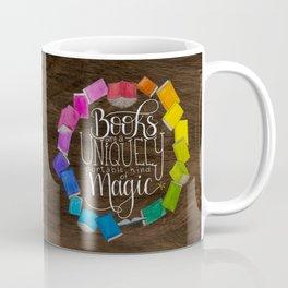 Books are Magic - wood Coffee Mug