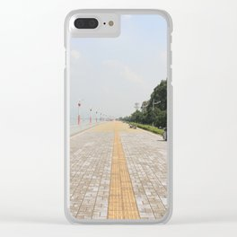 a street Clear iPhone Case