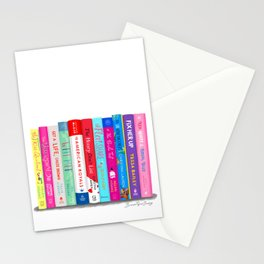 Romance Books Stationery Cards