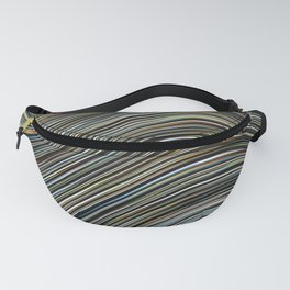 MAGS multi-colour layers create a giant wave Fanny Pack