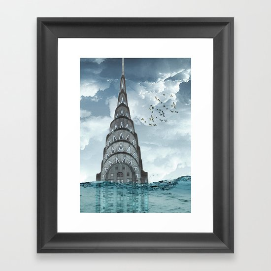 above the water line Framed Art Print