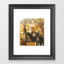 Stevie Nicks Framed Art Print