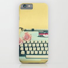 The Typewriter Slim Case iPhone 6s