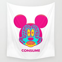 CONSUME Wall Tapestry