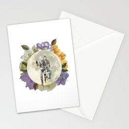 First men on the moon Stationery Cards