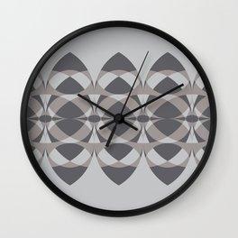 Surfboards in Gray Wall Clock