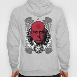 Aleister Crowley T-Shirts by LosFutbolko Hoody