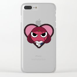 Angry Space Frogs Need Love Too. Clear iPhone Case