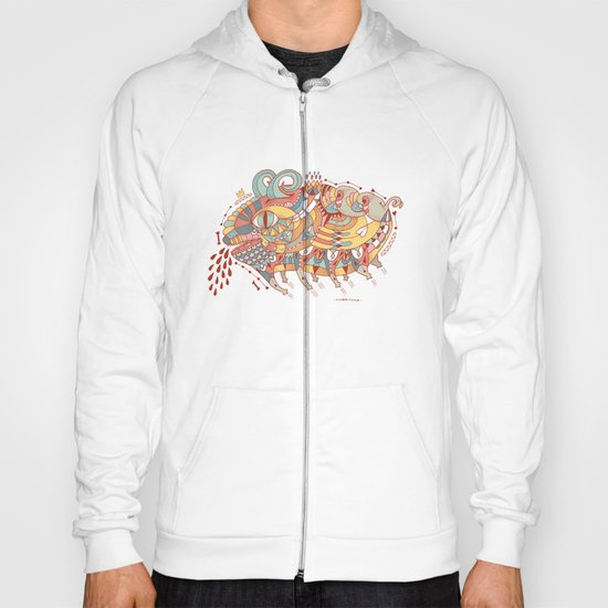 Goat Pig Monster Hoody