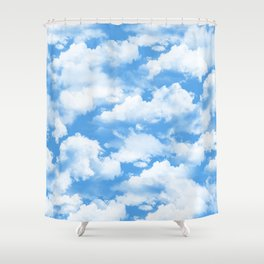 Sky's the limit. Shower Curtain