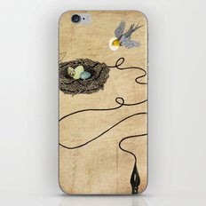 Bird's Winged Flight iPhone & iPod Skin