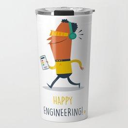 Happy Engineering Travel Mug