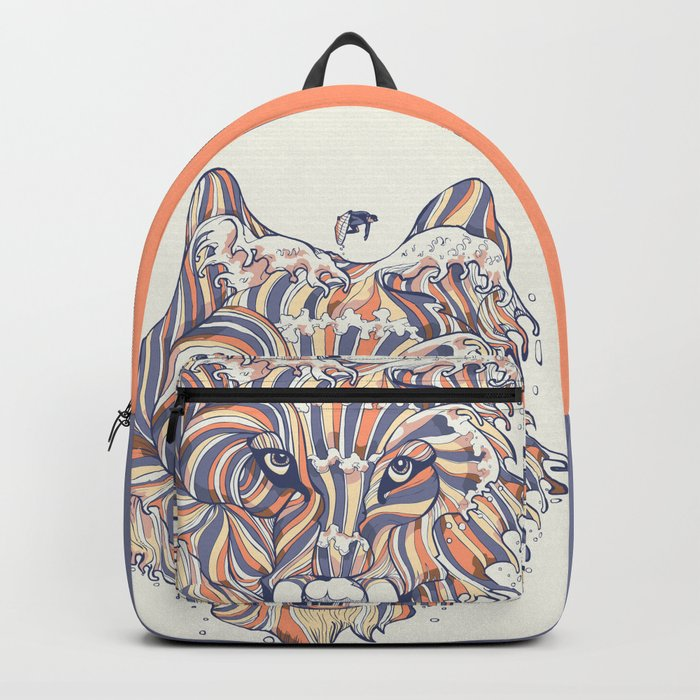 Wave Wolf Backpack