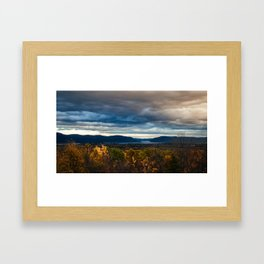 Distant Water Framed Art Print