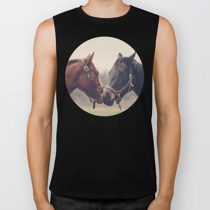 Horses  Biker Tank