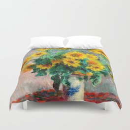 Bouquet of Sunflowers Duvet Cover