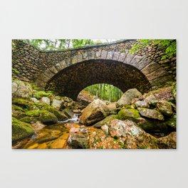 Cobblestone Bridge Canvas Print
