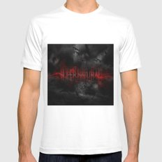 Supernatural darkness MEDIUM White Mens Fitted Tee