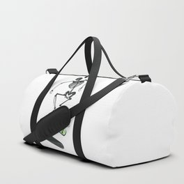 Skeleton Skater Duffle Bag