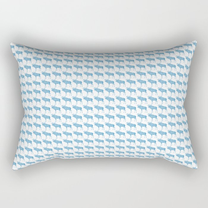 For the Elk-aholic Rectangular Pillow