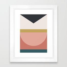 Maximalist Geometric 03 Framed Art Print