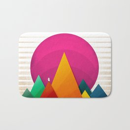 067 - Autumn sunrise Bath Mat