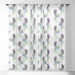 Mermaid Sheer Curtain