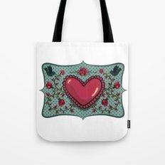 love and roses Tote Bag