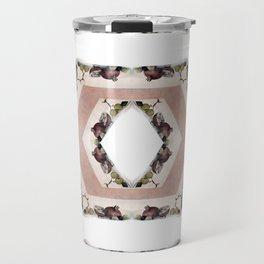 Fruit Diamonds Photographic Pattern #1 Travel Mug