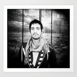 NYC holga portraits 2 Art Print