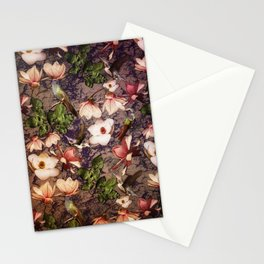Magnolias and Hummingbirds Stationery Cards