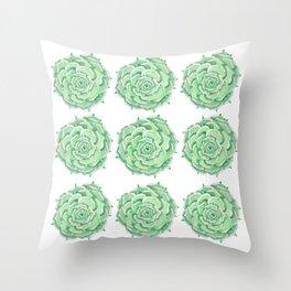 Succulent Throw Pillow