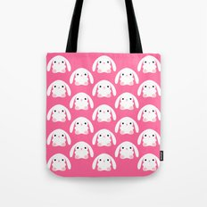 Mei the Strawberry Rabbit Tote Bag