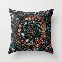 carousel Throw Pillows featuring :: Carousel :: by :: GaleStorm Artworks ::