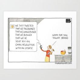 Social Fatigue Art Print