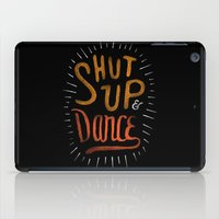 dance iPad Cases featuring Dance by skitchism