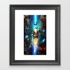 Biomechanical  Framed Art Print