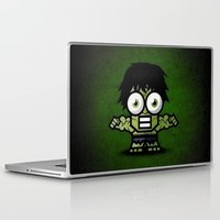 hulk Laptop & iPad Skins featuring Hulk by Thorin