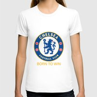chelsea T-shirts featuring Chelsea by DeBUM