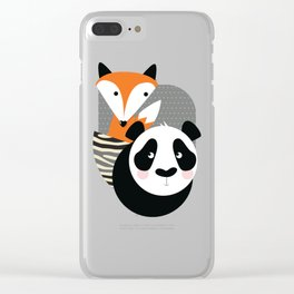 Love one another Clear iPhone Case