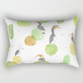 hornbills Rectangular Pillow
