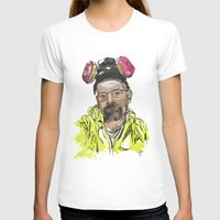 walter white T-shirts featuring Walter White  by Madows