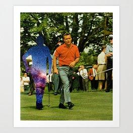 Golf Buddies Art Print